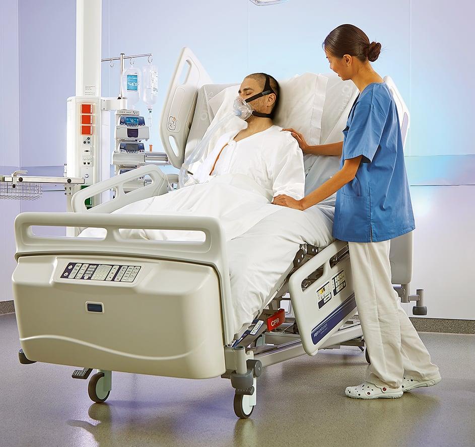 Citadel_nurse_reposition arjo hopsital beds