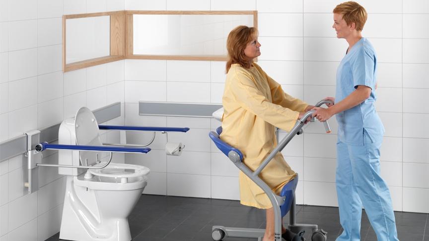 Safe patient transfer demonstration