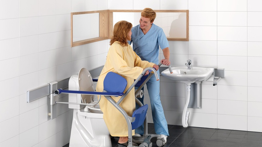 4 essentials for designing the toilet room for patients