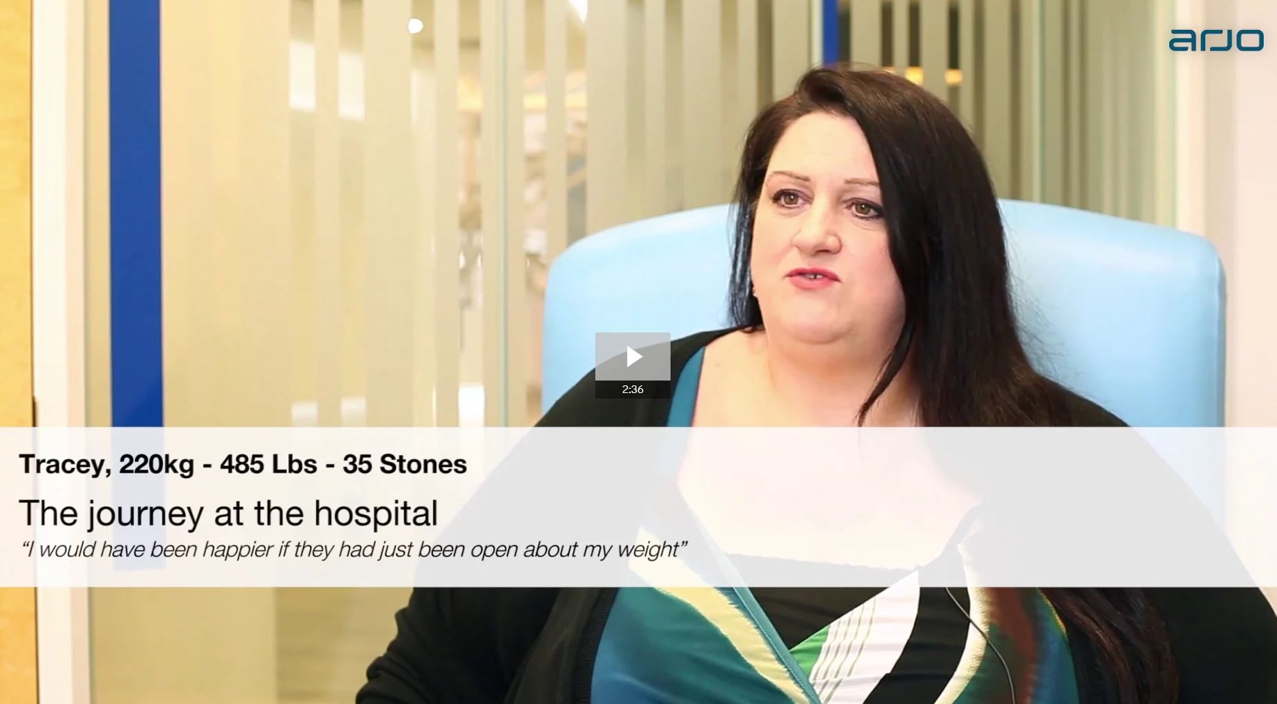 A plus size patient's journey at the hospital